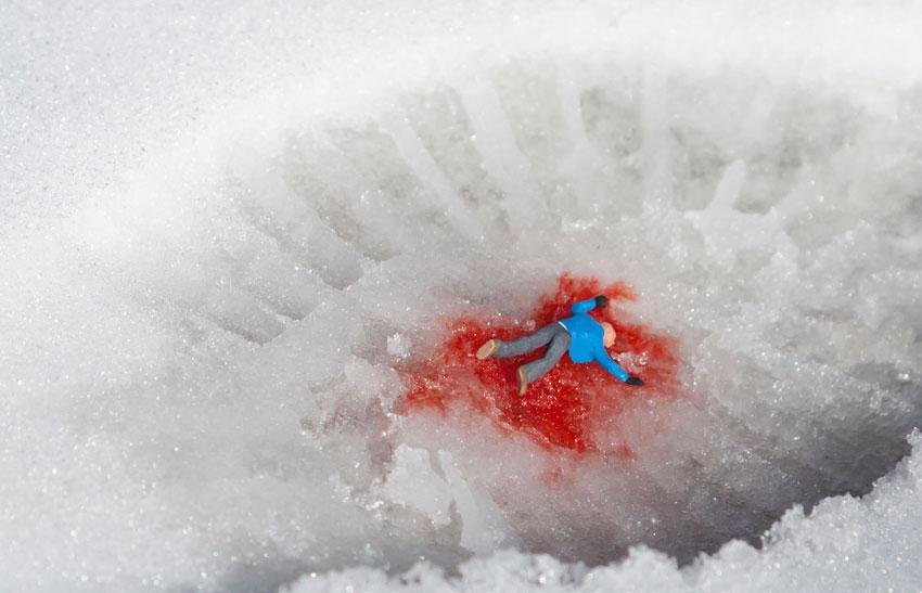 Asesinato en la nieve