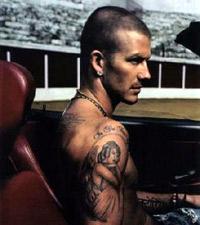 Tatuaje David Beckham de Louis Mollo