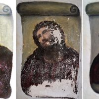 Restauración del Ecce Homo de Borja