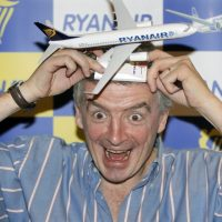 Michael O'Leary presidente de Ryanair
