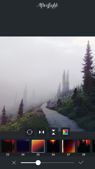 Captura 2 de la app Afterlight