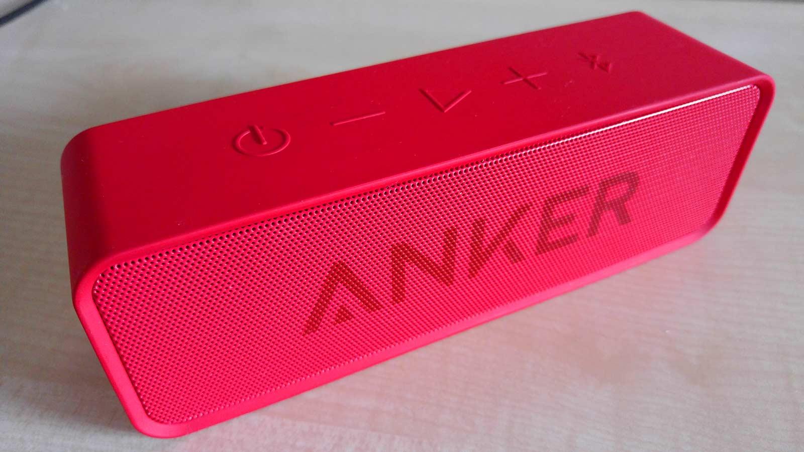 Análisis del altavoz Anker Soundcore