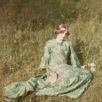 "Photo by John Cimin Walburg: 1909 ""Daydreams."""