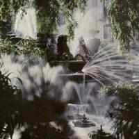 "Photo by John Cimin Walburg: 1910 ""The Neptune Fountain, Cheltenham."""