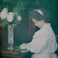 "Photo by John Cimin Walburg: 1909 ""The green mat."""