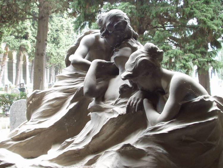 Cementerio Monumental de Staglieno, tumba de Appiani