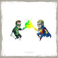 Green Lantern vs Quasar