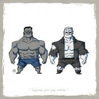 Hulk vs Grundy