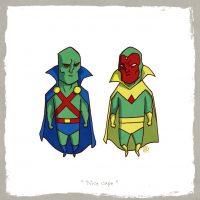 Martian Manhunter vs Vision