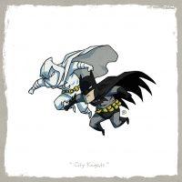 Moon Knight vs Dark Knight