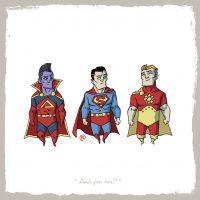 Gladiator vs Superman vs Hyperion