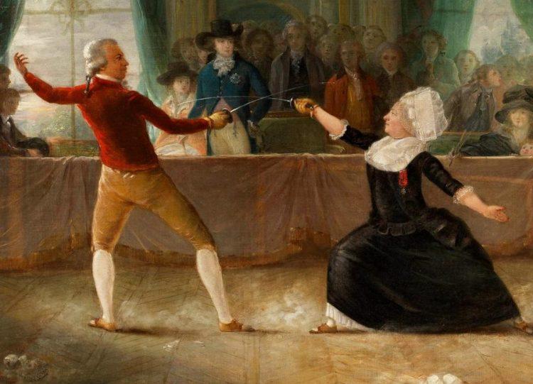 El caballero d'Éon vs. el caballero de Saint George. Artículo en Cultura Bizarra.
