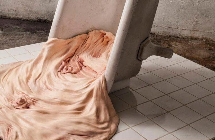 Las esculturas, de pieles sin colgantes, de Francesco Albano. Artículo en Cultura Bizarra.