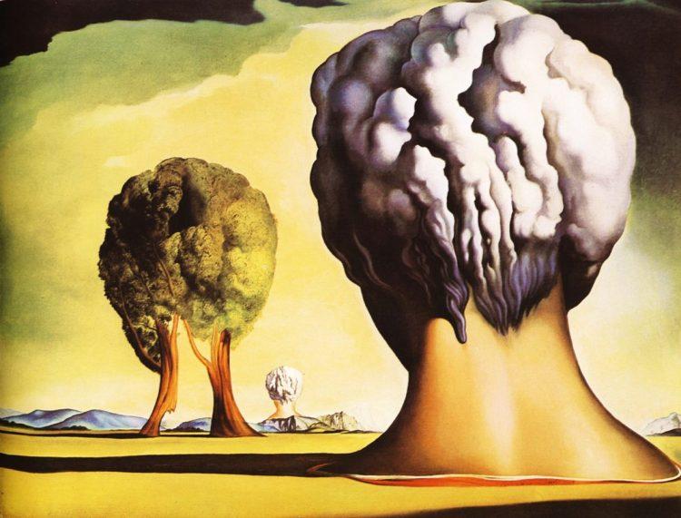 Salvador Dalí: Las tres esfínges Bikini. Artículo en Cultura Bizarra.