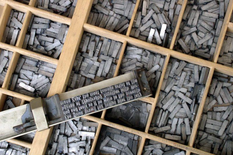 Elaboración de tipografías